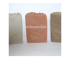 Set of 3 Soaps: Green clay + Red clay + Fuller Earth