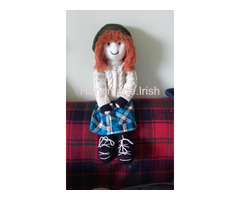 Hand Knit Doll