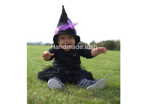 Halloween witch hat, Crochet hat