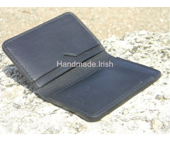 Handmade Slim Wallet Leather Card Holder