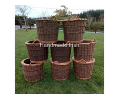Handwoven Log/Coal/Turf Baskets