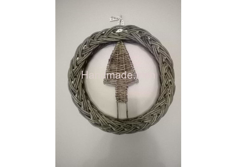 Handwoven Plaited Willow Wreaths 0