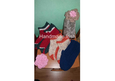Handmade warm slippers/socks