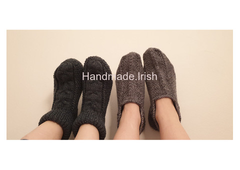 Handmade slippers-socks