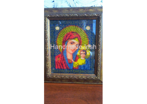 Icons  with beads