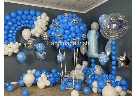 personalized gifts from balloons, any color, for children and adults