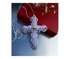 Cross Pendant with 925K Sterling Silver chain