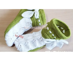Crocheted Boots